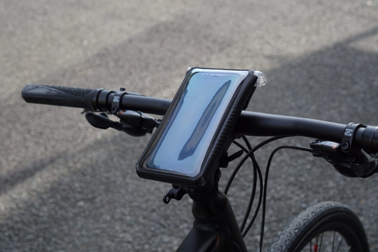 """【TOPEAK トピーク スマートフォン ドライバッグ 6""""】を開封レビュー。自転車で地図が見やすい!"""