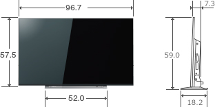 REGZA M520Xのスペック