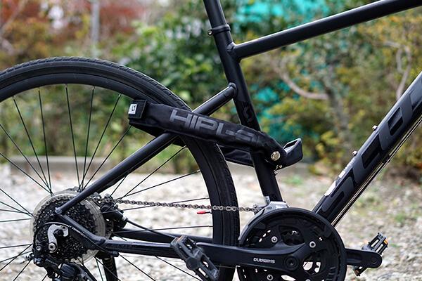 【おすすめの自転車用品】自転車用の鍵・HIPLOK LITEを使ってみたレビュー。頑丈さとデザイン性の高さを兼ね備えたおしゃれなチェーンロック(ヒップロックライト)