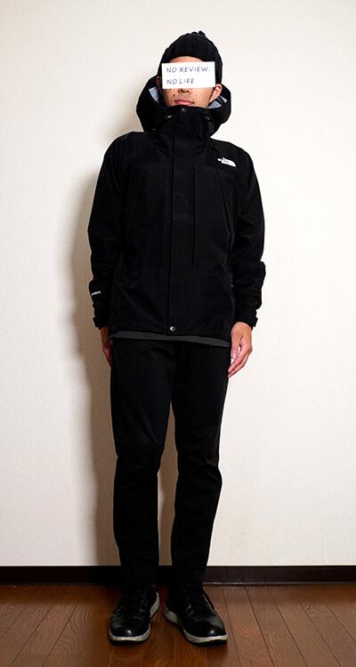 ノースフェイス・オールマウンテンジャケットの着用イメージ