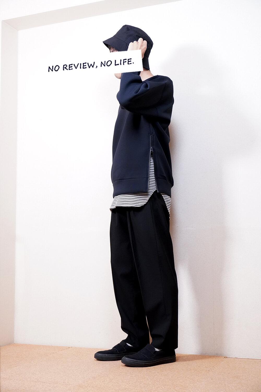 【サイドジップが魅力】ユニクロ×セオリーのウルトラストレッチドライスウェットのサイズ感とおすすめポイント【2021秋冬】