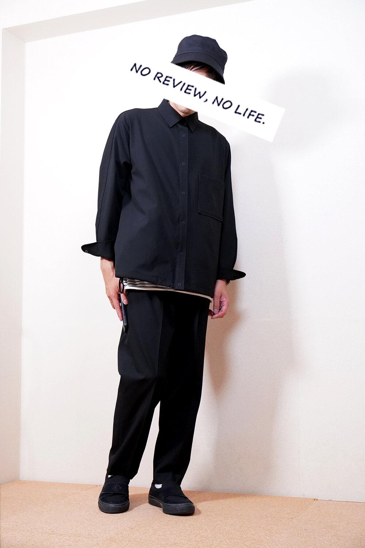 【大人な印象で快適】ユニクロ×セオリーのストレッチシャツジャケットのサイズ感とおすすめポイント【2021秋冬】